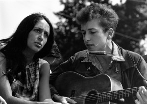 Bob Dylan og Joan Baez, 1963