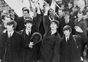 The Beatles ved ankomsten til USA, 1964