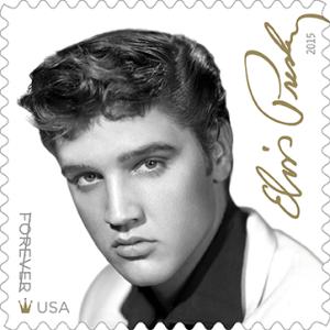 Elvis Presley stamp, U.S.A., 2015