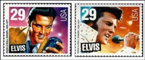Elvis stamp - skinny and fat