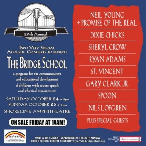 Bridge School Concerts 2015 - ad