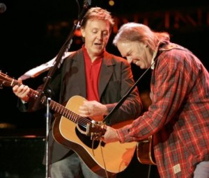 Neil Young & Paul McCartney, Bridge School koncert, 2004