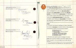 The Beatles' contract with Brian Epstein - 1. oktober 1962 - 2