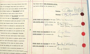 The Beatles' contract with Brian Epstein - 1. oktober 1962