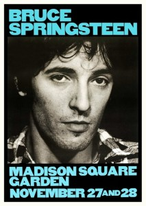 Bruce Springsteen - Madison Square Garden, 27. & 28. november 1980, concert poster