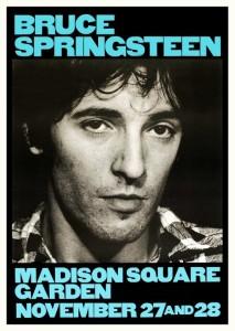 Bruce Springsteen - Madison Square Garden, 27. & 28. november 1980, concert poster