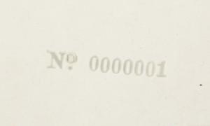 Ringos 'White Album' nr. 0000001