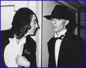 David Bowie og John Lennon, 1975