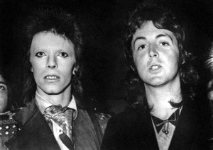 David Bowie og Paul McCartney, 1973