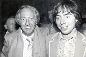 Robert Stigwood og Andrew Lloyd Webber, 1978