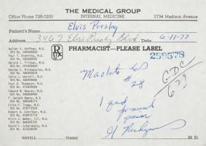 Elvis - medicin recept