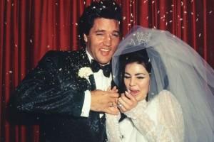 Elvis og Priscilla - bryllup