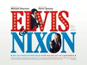 Elvis & Nixon - film poster, U.K., 2016