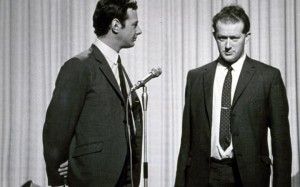 Barrow, Tony - right, with Brian Epstein