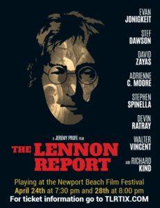 Lennon Report, The - film poster, 2016 - 2