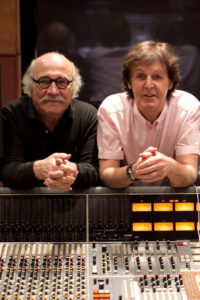 LiPuma, Tommy - record producer, with Paul McCartney, 2011