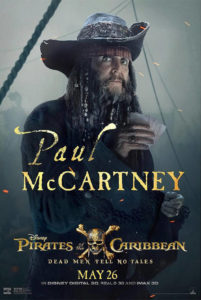 Pirates of the Caribbean m. Paul McCartney, 26. maj 2017 - plakat