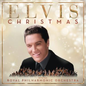 Christmas with Elvis and the Royal Philharmonic Orchestra - Elvis Presley, cd, 2017, front