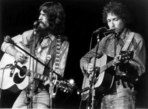 Bob Dylan 117 - og George Harrison ved Concert for Bangladesh