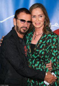 Ringo Starr and Barbara Bach, 2016