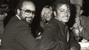 Quincy Jones med Michael Jackson