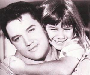 Butterworth, Donna - child actor, with Elvis Presley, 1966