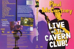 Live at The Cavern Club - Paul McCartney, dvd, cover 2