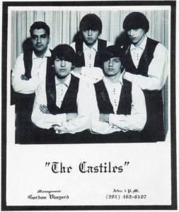 The Castiles 1966 - George Theiss i midten, Bruce nr. 2 fra venstre