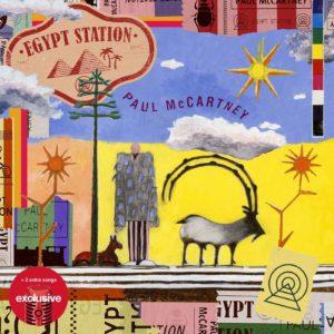 Egypt Station - Paul McCartney, cd, 2018, front 1
