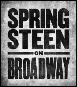 Springsteen On Broadway - plakat