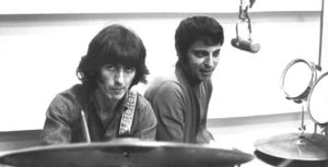 Blaine, Hal - drummer, in the studio with George Harrison