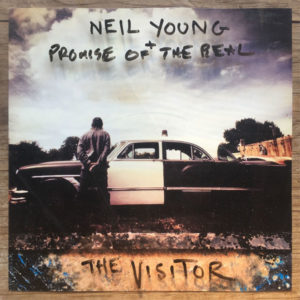 The Visitor - Neil Young & Promise Of The Real, cd, 2017, front
